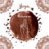 Element yoga mudra hands Stock Photos