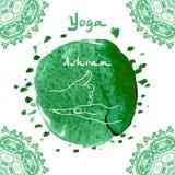 Element yoga shiva linga mudra hands Stock Image