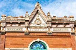 Element zewnętrzny projekt Gaffney budynek w Guthrie, OK obraz royalty free