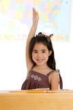 Elementair Meisje in School royalty-vrije stock fotografie
