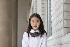 Elementair schoolmeisje royalty-vrije stock afbeeldingen