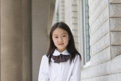 Elementair schoolmeisje royalty-vrije stock foto's
