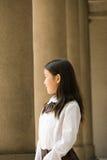 Elementair schoolmeisje royalty-vrije stock afbeelding