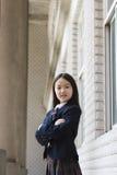 Elementair schoolmeisje royalty-vrije stock fotografie