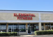Elemental Fitness, Memphis, TN. Elemental Fitness and Performance offers you a high performance and high intensity training alternative to help clients achieve Royalty Free Stock Photos