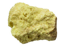 Elemental Sulfur Stock Photo
