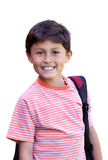 Elementary age schoolboy Royalty Free Stock Photo