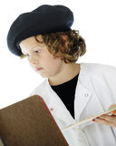 Elementary Artist Close-up Stock Photography