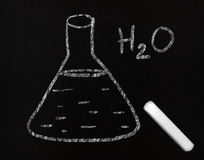 Elementary chemistry Royalty Free Stock Images