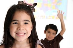Elementary Children In School Royalty Free Stock Image