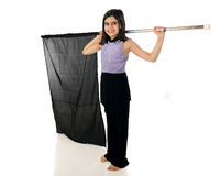 Elementary Color Guard Royalty Free Stock Photos