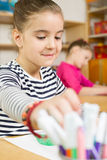 Elementary kids Stock Images