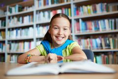 Elementary learner Royalty Free Stock Photo