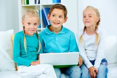 Elementary learners Stock Images