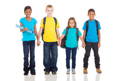 Elementary pupils Royalty Free Stock Photos