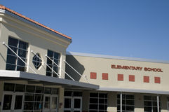 Elementary School. In Central Florida with architectural details Royalty Free Stock Photos