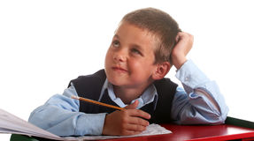 Elementary School boy Royalty Free Stock Photos