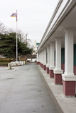 Elementary school building. Photo of elementary school building in Richmond. Canada stock photo