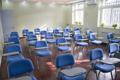 Elementary school classroom. In China Royalty Free Stock Images