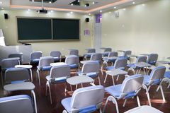 Elementary school classroom Royalty Free Stock Photos