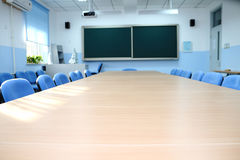 Elementary school classroom. In China Royalty Free Stock Photos