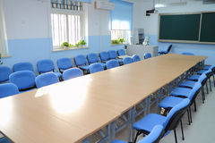 Elementary school classroom. In China Royalty Free Stock Photography