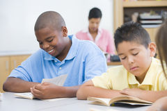 Elementary school classroom Royalty Free Stock Images