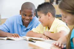 Elementary school classroom Stock Photography
