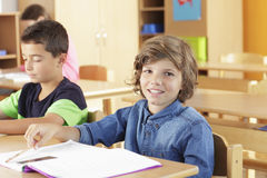 Elementary school classroom Royalty Free Stock Photography