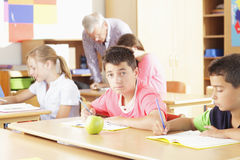 Elementary school classroom Royalty Free Stock Image