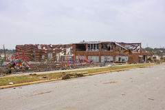 Elementary School Damaged Tornado Joplin Mo Royalty Free Stock Images