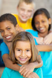 Elementary school friends Royalty Free Stock Image