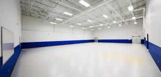 Elementary school gym. New gymnasium in an elementary school Stock Photography