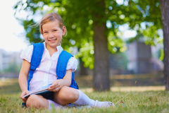Elementary school learner Stock Image