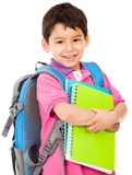Elementary school student Royalty Free Stock Photo
