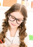Elementary school student Royalty Free Stock Photography
