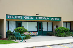 A Elementary school in tampa. A Elementary school, taken in Tampa Royalty Free Stock Photography