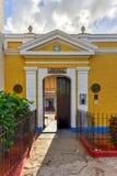 Elementary School - Trinidad, Cuba. Elementary school for young students in Trinidad, Cuba Royalty Free Stock Photos