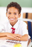 Elementary schoolboy Royalty Free Stock Photo