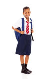 Elementary schoolgirl Royalty Free Stock Photo