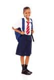 Elementary schoolgirl Royalty Free Stock Photo