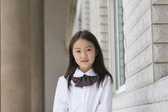 Elementary schoolgirl Royalty Free Stock Photos
