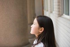 Elementary schoolgirl Stock Images