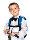 Elementary student boy Royalty Free Stock Photo