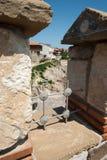 Elemente der alten Verstärkungen auf der Schwarzmeerküste Lizenzfreies Stockbild