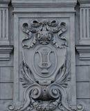 Elemente der Architektur an der Oper in Lemberg Lizenzfreie Stockfotos