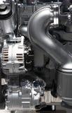 Elemente der Einheit des Kraftfahrzeugmotors Stockfotos