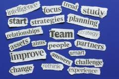 Elemente des Erfolgs Stockbild