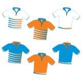 Elemente des T-Shirts Lizenzfreie Stockfotos