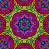 8 Elemente entspannen sich mythisches Kaleidoskop Stockfoto